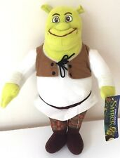 Shrek Plush. Large 13'' Toy Doll. New. Licensed. Dreamworks. Nwt