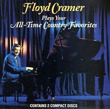 FLOYD CRAMER Plays Your All-Time Country Favorites (CD 1994) 2-DISC 30 Songs