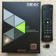 Minix Neo U1 Android TV Box + Remote Air Mouse/Keyboard
