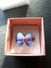 Brand new childs cute purple butterfly ring! UK size K! Kids childrens gift!