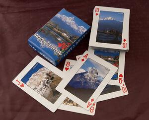 Jeu de 54 Cartes Thème Montagnes DE Himalaya Nepal Peterandclo 6225