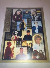 Bjork Elton John 1996/2 PolyGram Music Express Taiwan Edition Magazine #19