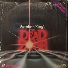"STEPHEN KINGS - THE DEAD ZONE - LASERDISC 12"" LD (O127)"