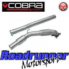 "Cobra Audi TT MK2 1.8 & 2.0 TFSi 3"" Sports Cat Downpipe Exhaust Stainless Fit OE"