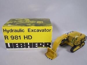 Sijam Modell 1:50 Liebherr Bagger R 981 HD + OVP   1M4222