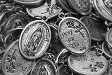 Catholic Italian Guadalupe Medal Lot - 10 Medals - FREE SHIPPING w/ Bonus