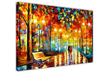 AT54378D Rains Rustle By Leonid Afremov Canvas Wall Art Print Home Deco Pictures