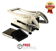 French Fry Potato Cutter Vegetable Fruit Slicer Chipper Dicer Stainless Steel US