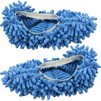 EZ Clean Dust Mop Slippers Cleaning Socks Shoes Lazy Quick House Floor Polishing