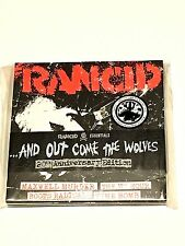 """RANCID 'AND OUT COME THE WOLVES' 7"""" BOX SET 20th Anniversary WHITE"""
