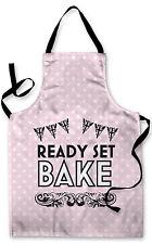 PINK POLKA DOT BAKE OFF DESIGN APRON KITCHEN COOKING GREAT GIFT IDEA
