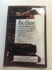 Befine Food Skin Care Night Cream 0.34 fl oz