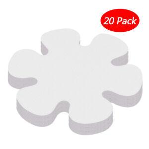 "20Pcs Flower Safety Treads Non-Slip Applique Stickers Mat Bath Tub&Shower 4""HQ Z"