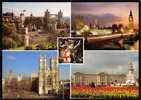 Postcard, Tower of London, Tower Bridge, Big Ben, Buckingham Palace CV1