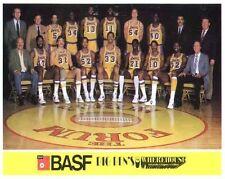 1982-83 LOS ANGELES LAKERS BASKETBALL TEAM 8X10 PHOTO