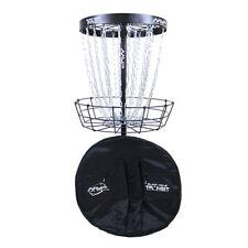 NEW MVP Discs Black Hole Pro Disc Golf Basket With Transit Carry Bag