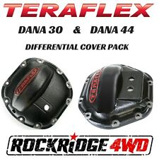 Teraflex Front Dana 30 & Rear Dana 44 Differential Cover Armor Jeep 4x4 Offroad