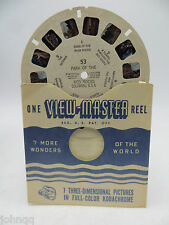 View-Master Reel 53, Park of the Red Rocks, Colorado, Single Reel