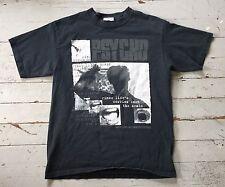 PSYCHO Horror Film Movie T-Shirt Alfred Hitchcock Universal Studios Black (M)