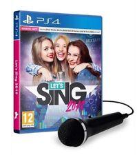 Let's Sing 2019 Microfono Ps4 Playstation 4 Deep Silver