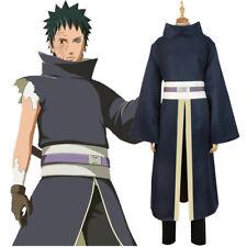 Anime Naruto Shippuden Uchiha Obito/Madara Kimono Men Cosplay Costume Halloween