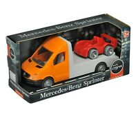 Licensed series of Mercedes-Benz Sprinter Tow Truck Collectible Toy Exclusive