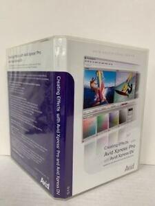 CREATING EFFECTS WITH AVID XPRESS PRO & AVID XPRESS DV(DVD 2003 2DISC)-VERY GOOD
