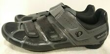 Pearl iZumi Select RD Shoes Gray Black Size 47 (US 12.5) Road Bike Cycling Shoes