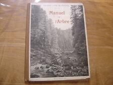 manuel de l'arbre pâturage enseignement cardot 1911 forêt montagne photos métier