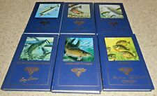 North American Fishing Club 6 Books Salmon, Lg-Sm Mouth Bass Panfishing & More