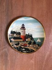 Summer Seaport Royal Doulton Limited Edition Collector Plate By Franklin Mint ~