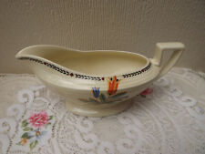 Crown Ducal 1930 Art Deco Gravy boat reg no 796148 - Made in England