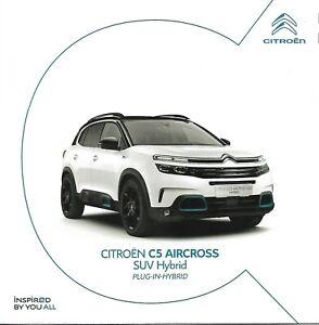 Prospekt / Brochure Citroen C5 Aircross SUV Hybrid 11/2019