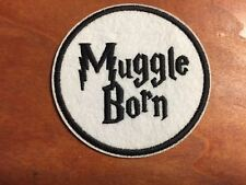 MUGGLE BORN Harry Potter Fantastic Beasts Patch - Embroidered Iron On Patch 3 ""