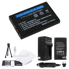 KLIC-5000 Battery+Charger+BONUS for Kodak EasyShare One, LS753 Z730 Z760 Z7590