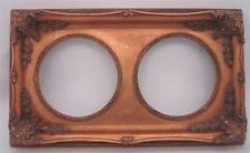 Dorati in legno massello cornice-Doppia apertura-Dimensioni complessive 52,5 cm x 30,5 cm