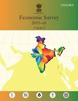 Economic Survey 2015-2016 (Two-Volume Set) Government of India (Author)