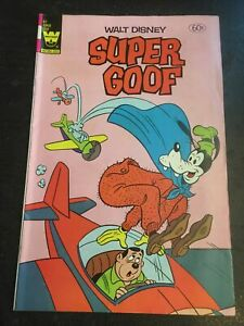 Walt Disney Super Goof#67 Awesome Condition 8.0(1981) Airplane Cover