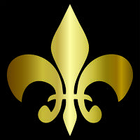 Fleur-de-lis Vinyl Decal / Sticker - Choose Color & Size - BSA Boy Scouts Royal