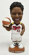 WNBA Indiana Fever vs Detroit Bobblehead 2001 Signed Alicia Thompson #43 New