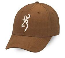 BROWNING OVER / UNDER CAP Shooting Hunting Hat Deer Baseball Clay Pigeon Brown