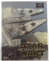 STAR WARS THE FORCE AWAKENS Blu-ray Steelbook NOVAMEDIA FULL SLIP B #318/600**