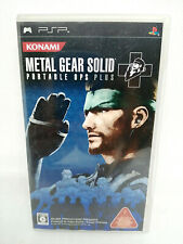 Sony PSP Playstation Portable - METAL GEAR SOLID PORTABLE OPS PLUS Japan Version