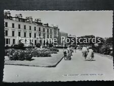 Yorkshire FILEY The Crescent looking North c1950's RP by Bamforth & Co No.2