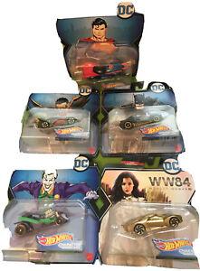 Batman, Robin, Superman, Joker, Wonder Woman Golden Armor Scratched Package.