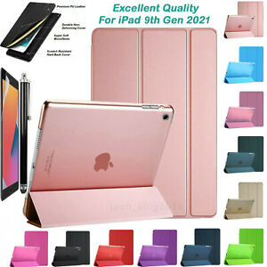 """For Apple iPad 9th Generation 10.2"""" (2021) Latest Smart Stand Case Cover"""
