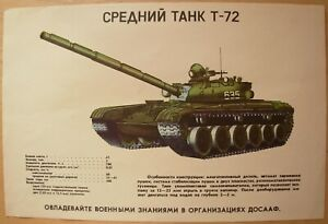Russian Original Poster ZSU-57-2 Soviet anti-aircraft gun tank USSR military arm