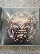Bonfire Fireworks CD Fully Signed By All The Band Firefest 2010