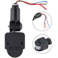 WELL New Outdoor 110-220V Infrared PIR Motion Sensor Detector Wall Light Switch