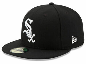 New Era Chicago White Sox GAME 59Fifty Fitted Hat (Black) MLB Cap